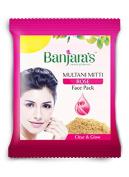 Multani Mitti + Rose Face Pack - 6 Nos