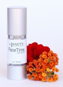 Dr. Janet's Balanced By Nature Products FaceTime Face Serum – Vitamin C Face Serum, For Intense Hydration & Anti-Ageing Benefits – 30ml
