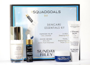 Sunday Riley #Squadgoals Squad Goals Skincare Essentials Kit - 4 Pc Starter Set