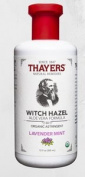 Thayers Organic Lavender Mint Witch Hazel Astringent with Aloe Vera, 350ml