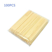 Gospire 100pcs Multi-functional Nail Art Polish Wood Sticks Cuticle tools Pusher Removers
