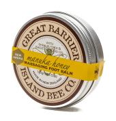 Manuka Honey & Shea Butter & Sweet Almond Oil Massaging Foot Balm 100ml - Made in New Zealand