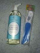 Bio Creative Lab Spa Natural Remedy Callus Remover 1010ml + Mr Pumice Foot File