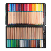 Marco Renoir Fine 72 Colours Water Soluble Drawing Pencil Set Non-toxic Tin Wooden Painting Artist Sketching Craft Graphite with Iron box