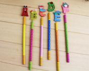 English letter 10-colour Coloured Pencils/ Drawing Pencils for Sketch/Secret Garden Colouring Book
