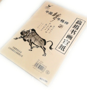 THY COLLECTIBLE Chinese Calligraphy Brush Ink Writing Sumi Paper / Xuan Paper / Rice Paper, 37cm x 25cm