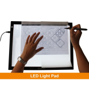 GAOMON B4 Size LED Light Box 5MM Ultrathin Light Pad USB Art Tracing Board for Sketch and Copy - GB4