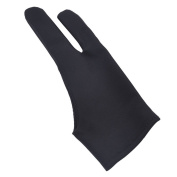 LLTrader Artist Glove for Light Box with Two Fingers for Wacom Graphics Tablet Monitor Pen Display