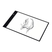 M.Way Adjustable Ultra Thin LED Tracing Copy Board Tracer Pad Light Box Tattoo Sketch Art Photo Craft A4 Size For Artists,Drawing, Sketching, Animation