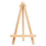 1 Pcs Mini Wood Display Easel Wedding Place Name Card Holder Stand By Crqes