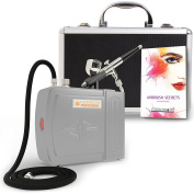 The Complete Airbrush Makeup, Cosmetic and Tattoo Professional Spray Gun Mini Compressor Kit for Multi Purpose Air Brushing