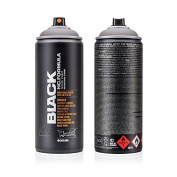 Montana Cans - Montana BLACK High-Pressure Cans Spray Colour - 400ml Cans - Morpheus