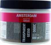 Amsterdam Grounds - Gesso - Transparent - 500ml