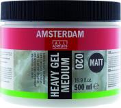 Amsterdam Gel Medium Heavy - Matt - 500ml