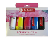 Talens Art Creation Acrylic 5x75ml Paint Set