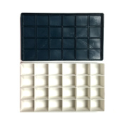 Lightweight Plastic Palette Box with Soft Cover for Watercolour, Acrylic Paints