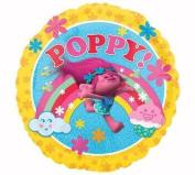 Troll Trolls 46cm Wedding Shower Birthday Party Supplies Foil Mylar Helium Balloons Decorations Movie Poppy Celebrate