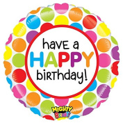 Mighty Gumball Birthday Mylar Balloon