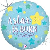 A Star Is Born Boy Mylar Balloon