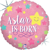 A Star Is Born Girl Mylar Balloon