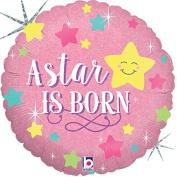 A Star Is Born Girl Mylar Balloon