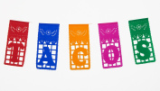 "Mexican TISSUE Papel Picado for TACO BAR - ""TACOS"" - Designs & Colours as Pictured By Paper Full of Wishes"