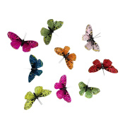Colourful Butterfly Garland, 2m long