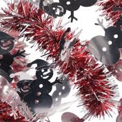 Forum Tinsel Christmas Snowman 2.7m Garland