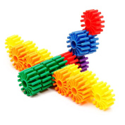 Flormoon Gear Blocks Learning Resources Gears Wheels 350g Construction Toy for Children Kids Girls