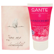 SANTE - Organic Goji and Olive Hand Cream - Vegan - Gluten Free - Travel Size