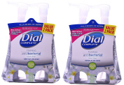 Dial Complete Foaming Antibacterial Hand Wash, Soothing White Tea, 220ml, 2 Count,