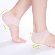 Plantar Fasciitis Shock Absorbing Heel Cushion – Protective Support Sleeve to Soothe and Moisturise Sore Feet and Relieve Pain from Plantar Fasciitis