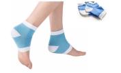 Foot Care Blue Unisex Silicone Moisturising Gel Sock