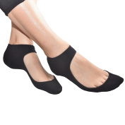 Medipaq Ballet Pump / Flats Shoe Liners - Gel Heel For Sockettes That Actually Stay In Place!