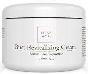 Lilah James Bust Skin Revitalising Cream 120ml - An Ultra Hydrating Cream That Rejuvenates And Tones