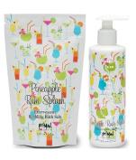 Primal Elements Bath Salt 350ml and Lotion 240ml - Pineapple Rum Splash