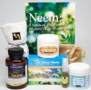 Neem Oil Shingle Relief Kit- Best Nerve Pain Relief- Formulated for Shingle Recovery. For Eczema, Psoriasis, Rosacea, Dermatitis and Rashes.