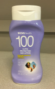(Lot of 2) CVS Ultra Protection Sun Lotion Broad Spectrum SPF 100 Sunscreen UVA/UVB Protection 6 oz