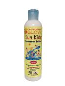 California Glow, Sun Kids, All Natural Non-Allergenic Broad Spectrum Sun Care Sunscreen Lotion - SPF 50, 240ml