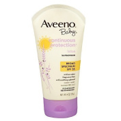 Aveeno Baby Continuous Protection Sunscreen Lotion, SPF 55 120ml