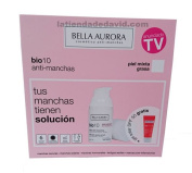 Bella Aurora Bio 10 Combination-oily Skin Serum 30ml + Free Sunscreen Anti-dark Spots Gel Spf 50+ 30ml