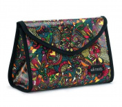 Sakroots Flap Cosmetic Bag, Rainbow Spirit Desert