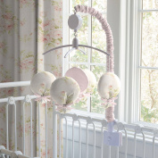 Carousel Designs Shabby Chenille Mobile