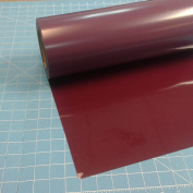 Siser Easyweed Maroon 38cm x 1.5m Iron on Heat Transfer Vinyl Roll