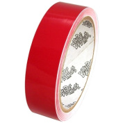Tape Planet 3 mil 2.5cm x 10 yards Red Outdoor Vinyl Tape