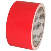 Tape Planet Fluorescent Red 5.1cm x 10 yards Premium Cast Vinyl Tape