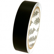 Tape Planet 3 mil 2.5cm x 10 yards Black Matte Outdoor Vinyl Tape