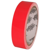 Tape Planet Fluorescent Red 2.5cm x 10 yards Premium Cast Vinyl Tape