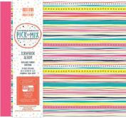 Pick N Mix Large 20cm First Edition FSC Scrapbook Memory Photo Album