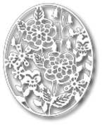 Tutti Designs Thin Metal Die - Cheerful Garden Frame - Tutti-162